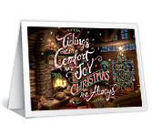 Tidings of Comfort and Joy printable card