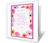 To My Wonderful Grandma printable card