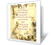 To Share My Life with You printable card