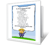 Top Ten Dad Phrases printable card