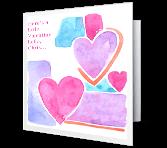 Valentine Hug greeting card