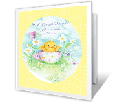 Warmest Easter Wishes printable card