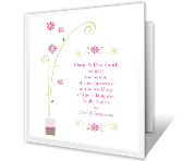 Wedding Ceremony printable card