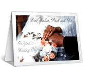 Wedding Day Wishes printable card