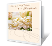 Wedding Wishes printable card