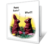 What?! greeting card