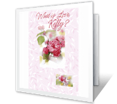 What Is Love? greeting card