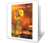 What Is Thanksgiving? greeting card