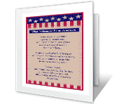 What It Means to Be an American greeting card