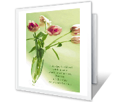 Wonderful Daughter greeting card