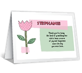 Wonderful Granddaughter printable card
