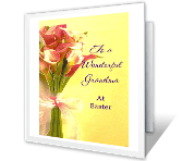 Wonderful Grandma printable card