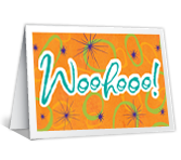 Woo Hooo! greeting card