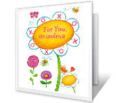 World's Nicest Grandma greeting card