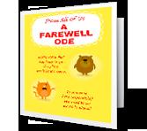 A Farewell Ode