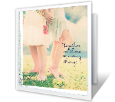 A Good Friend Like You greeting card