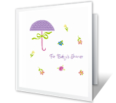 A Special Gift for Baby greeting card