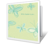 For Everything You Do greeting card