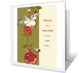 Happiness Forever greeting card