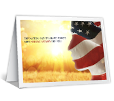 Her Service, Our Freedom greeting card
