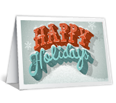 Holiday Joy greeting card