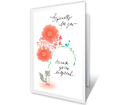Mother's Day Wish greeting card