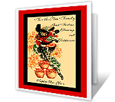 New Blessings greeting card