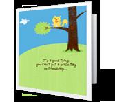 Priceless Friend greeting card