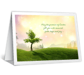 Promise of Easter greeting card
