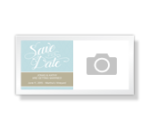Save The Date! - 4 x 8 Photo Card announcement