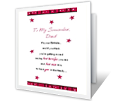 Terrific Son-in-law greeting card