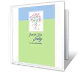 Wishing You Life's Best Things greeting card