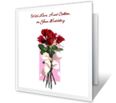 With Love, Aunt greeting card