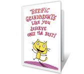 You Deserve the Best greeting card