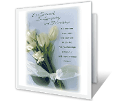 You Are Cared For greeting card