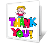 You Deserve Thanks greeting card