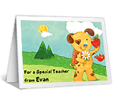 You Make School Fun! greeting card