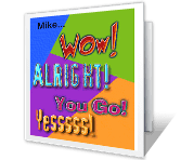 You Rule the School! greeting card