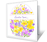 Your Happiness at Easter printable card