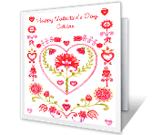 Your Love and Kindness greeting card