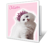 You're a Lovable Daughter greeting card