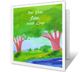 You're Loved a Lot greeting card