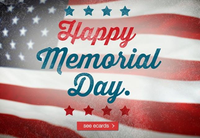 Happy Memorial Day See ecards
