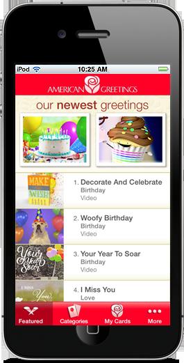 The American Greetings iPhone App
