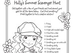 Holly's Scavenger Hunt