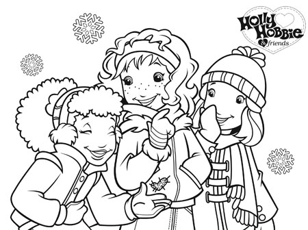 Holly hobbie coloring pages coloring page for Holly hobbie coloring pages