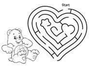 Help Harmony Bear! Care Bears Activities