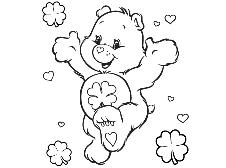 Happy GoLucky Bear Care Bears Activity AG Kidzone