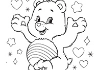Never Fear, Cheer is Here! Care Bears Activity Care Bears Coloring Pages