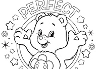 Perfect Harmony Care Bears Coloring Pages